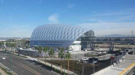 Anaheim Regional Transportation Intermodal Center (ARTIC), Phase 1, Anaheim, CA
